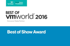 Best of vmworld 2016 - Best of Show Award