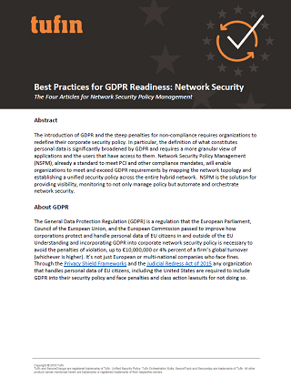 GDPR Best Practices Guide